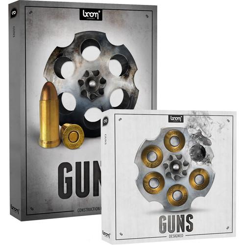 Sound Ideas Guns Sound Effects Library Bundle (Download)