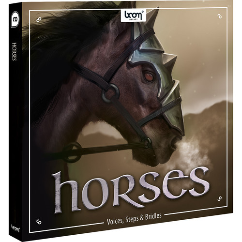 Sound Ideas Horses - Sound Effects Library (Electronic Download)