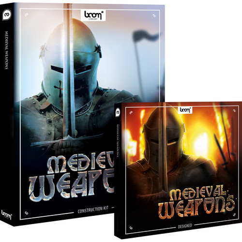 Sound Ideas Medieval Weapons - Sound Effects Library Bundle (CD-ROM and DVD-ROM)