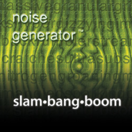 Sound Ideas Slam Bang Boom Production Elements Collection CD (Pair)
