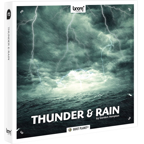 Sound Ideas Thunder and Rain - Sound Effects Library (Electronic Download)