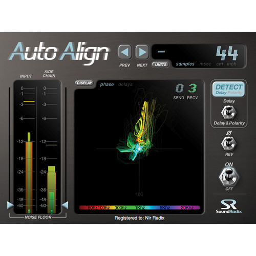 Sound Radix Auto-Align - Time and Phase Alignment Plug-in (Download)