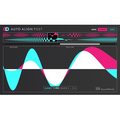 Sound Radix Auto-Align Post Plug-In for Pro Tools AudioSuite