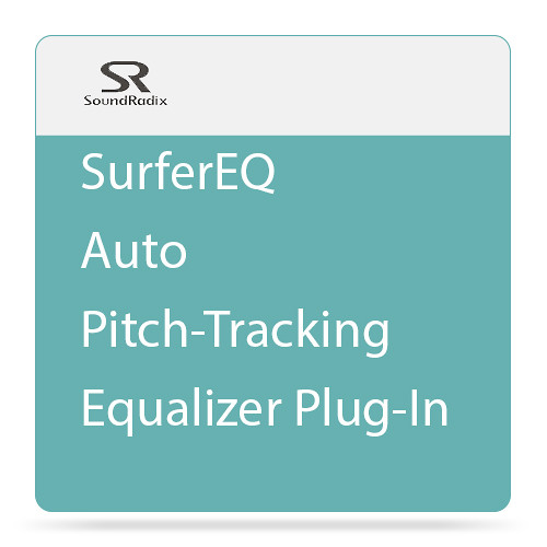 Sound Radix SurferEQ - Auto Pitch-Tracking Equalizer Plug-In (Download)