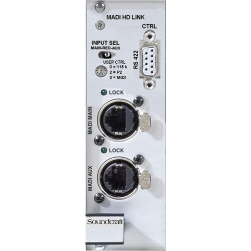 Soundcraft MADI HD Link Card for Vi Series MADI Stagebox (D21M, CAT5)