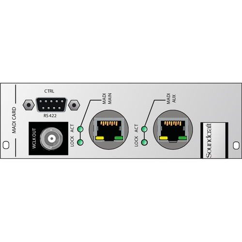 Soundcraft Cat5 MADI HD Card for Compact Stagebox