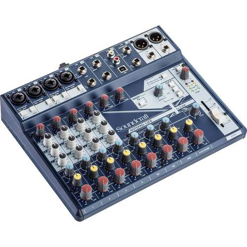 Soundcraft Notepad-12FX Small-Format Analog Mixing Console with USB I/O and Lexicon Effects