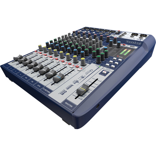 Soundcraft Signature 10 10-Input Mixer with Effects