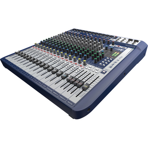 Soundcraft Signature 16 16-Input Mixer with Effects
