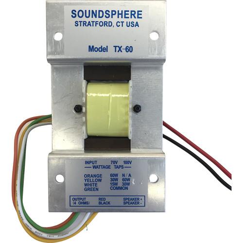 Soundsphere 60W Line Transformer for 110 Page Loudspeaker