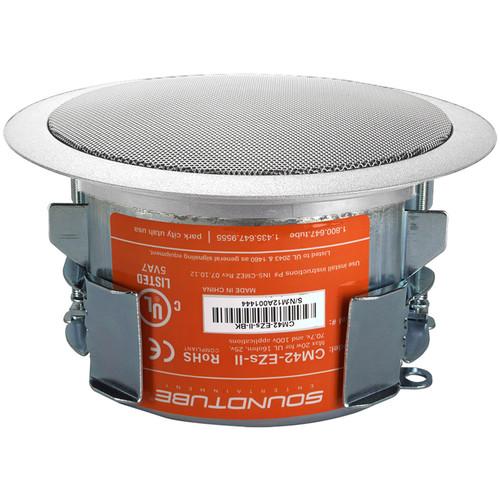 """SoundTube Entertainment CM42 4"""" Ceiling Speaker (White, Short Can)"""