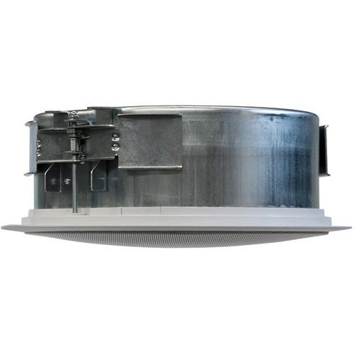 "SoundTube Entertainment CM82-EZS-II-BK 8"" Coaxial In-Ceiling Shallow Backcan Speaker (Black)"