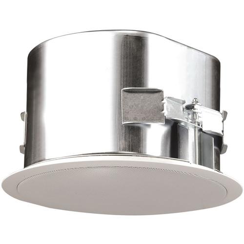 "SoundTube Entertainment IPD-CM82-BGM-WH 8"" Coax In-Ceiling Dante IP Speaker (White)"
