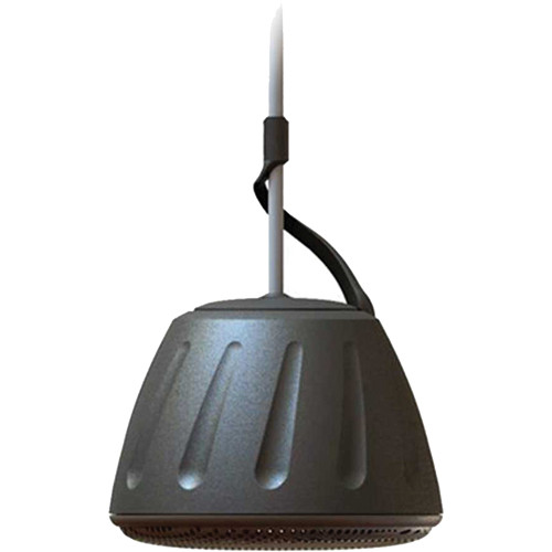 "SoundTube Entertainment RS31-EZ-T 3"" Indoor/Outdoor On-Ceiling Pendant Mount Speaker with 20W Transformer (Black)"