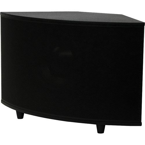 "SoundTube Entertainment SM1001p 10"" 200W High-Powered Surface-Mount Subwoofer (Black)"