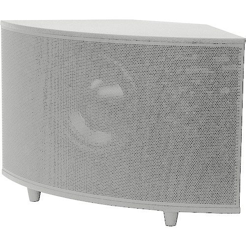 """SoundTube Entertainment SM1001p 10"""" 200W High-Powered Surface-Mount Subwoofer (White)"""