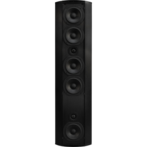 SoundTube Entertainment Teatro TCE1.5 2-Way Ultra-Thin Center Channel Eliminator Speaker (Black)