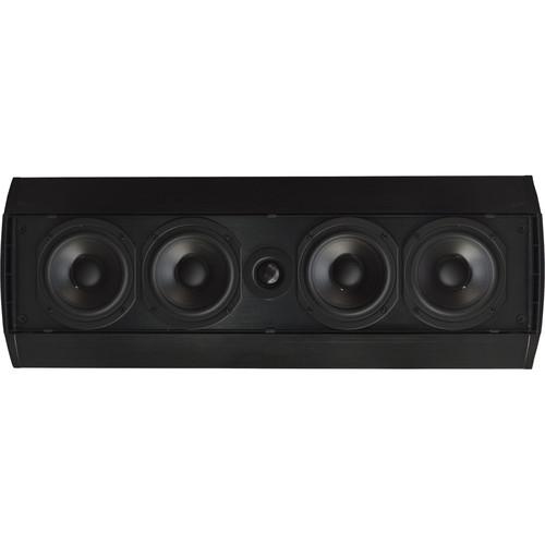 SoundTube Entertainment Teatro TFS1.0 2-Way Ultra-Thin Front & Surround Speaker (Black)