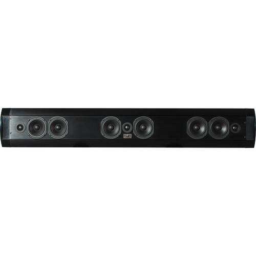 SoundTube Entertainment Teatro TSB3.0 Ultra-Thin 3-Channel Passive Soundbar (Black)