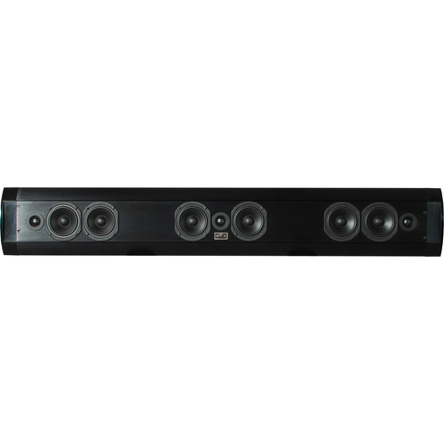 SoundTube Entertainment Teatro TSB3.0 2-Way Ultra-Thin 3-Channel Soundbar (Black)
