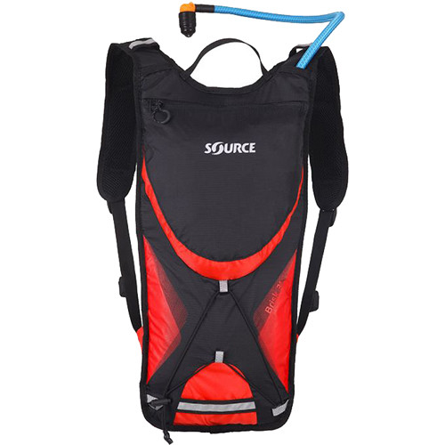 SOURCE Brisk 2L / 70 oz Hydration Pack (Black / Red)