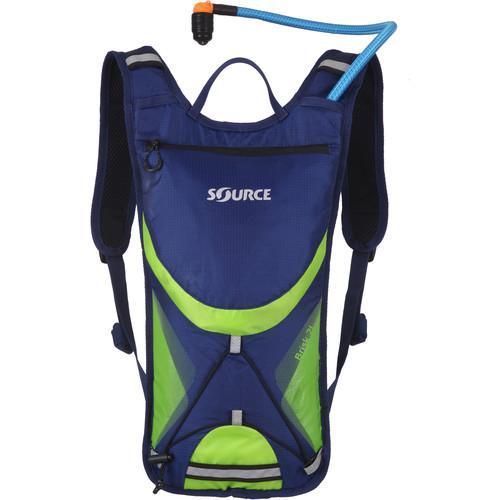 SOURCE Brisk 2L / 70 oz Hydration Pack (Dark Blue / Green)