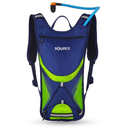 SOURCE Brisk 3L / 100 oz Hydration Pack (Dark Blue / Green)