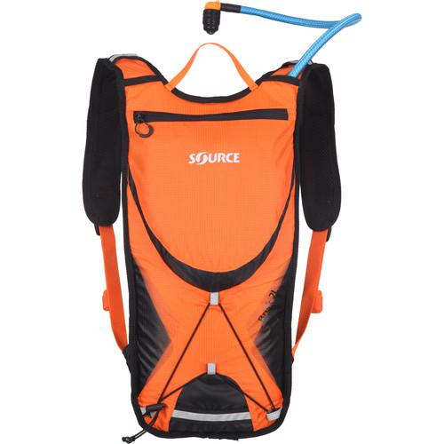 SOURCE Brisk 2L / 70 oz Hydration Pack (Orange / Black)