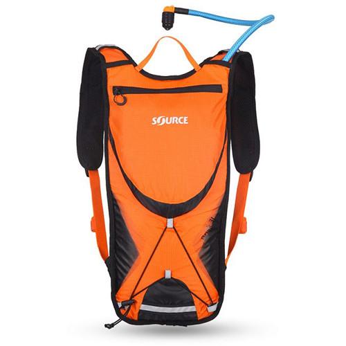 SOURCE Brisk 3L / 100 oz Hydration Pack (Orange / Black)