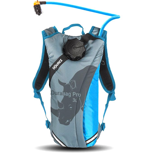 SOURCE Durabag Pro Hydration System (2L, Gray/Light Blue)