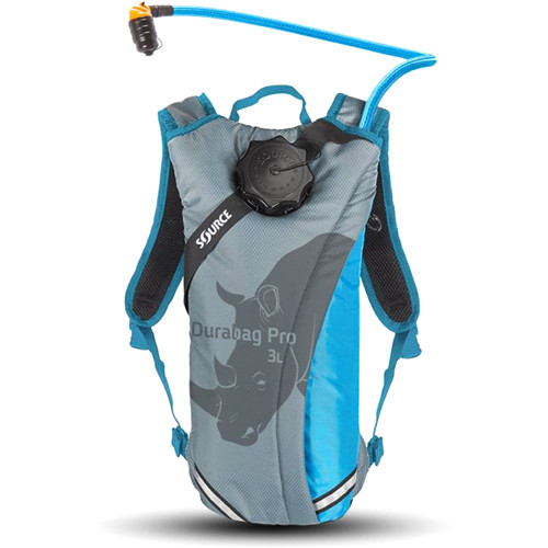 SOURCE Durabag Pro Hydration System (3L, Gray/Light Blue)