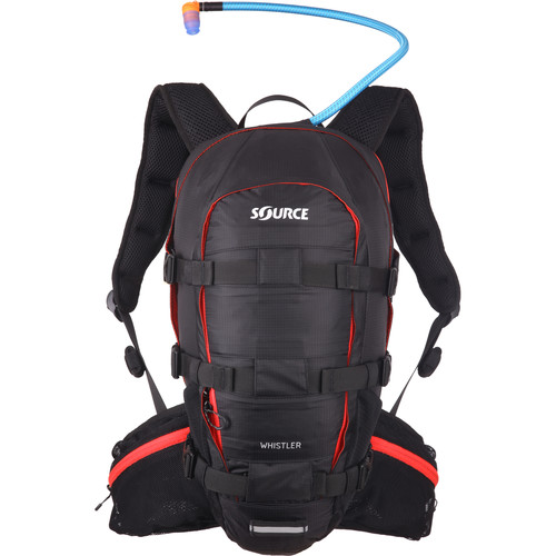 SOURCE Whistler 20L Hydration Pack (Black/Red)