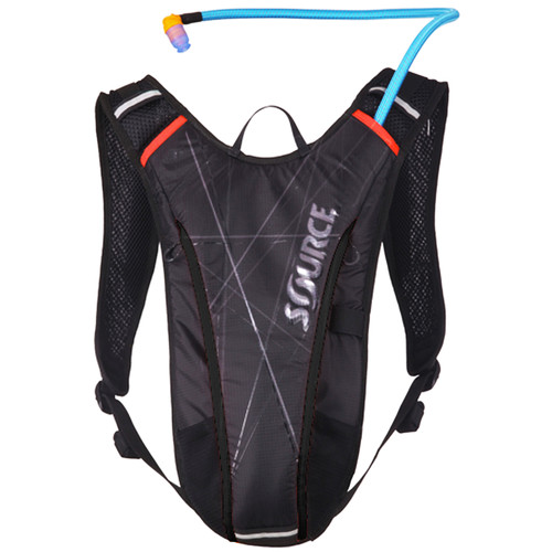 SOURCE VIM 2L Hydration Pack (Black/Red)