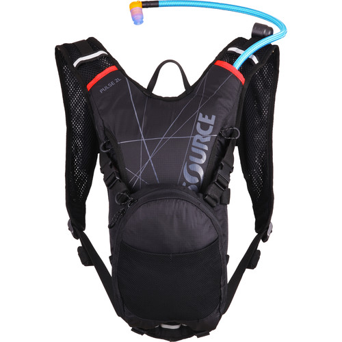 SOURCE Pulse Hydration 2 L Pack (Black / Red)