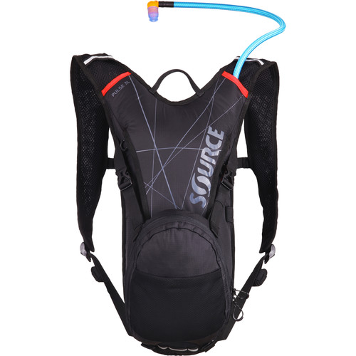 SOURCE Pulse Hydration 3 L Pack (Black / Red)