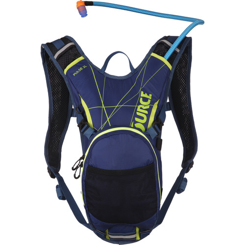 SOURCE Pulse Hydration 2 L Pack (Dark Blue / Green)