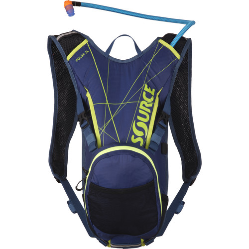 SOURCE Pulse Hydration 3 L Pack (Dark Blue / Green)