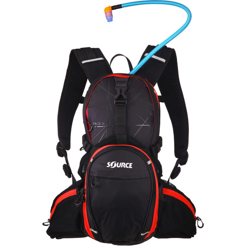 SOURCE Race 15L Hydration Pack (Black)