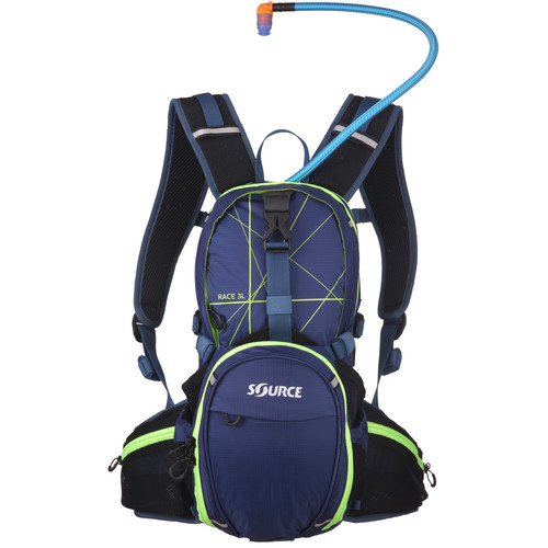 SOURCE Race 15L Hydration Pack (Dark Blue/Green)