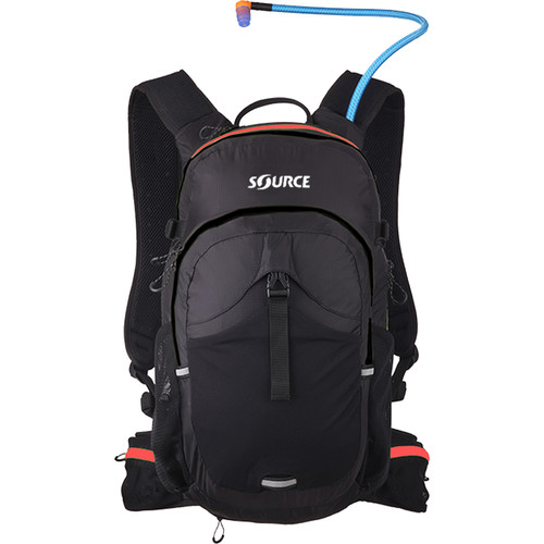 SOURCE Paragon 3L Hydration Pack (Black / Red)