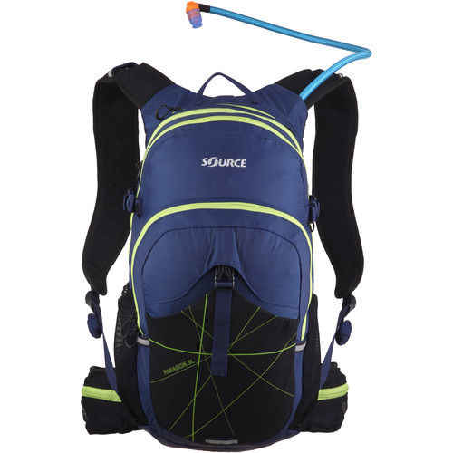 SOURCE Paragon 3L Hydration Pack (Dark Blue / Green)