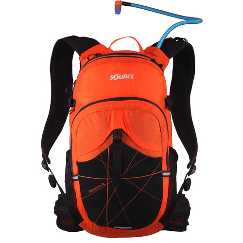 SOURCE Paragon 3L Hydration Pack (Orange / Yellow)