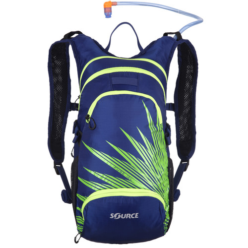 SOURCE Fuse 3 L Hydration Pack (Dark Blue / Green)