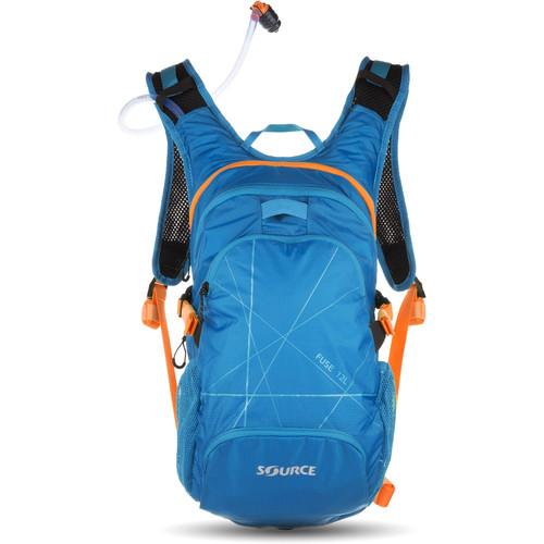 SOURCE Fuse 12L Hydration Bike Pack with 3L Reservoir (Light Blue)