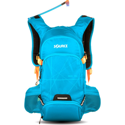 SOURCE Ride 15L Hydration Pack with 3L Reservoir (Light Blue)