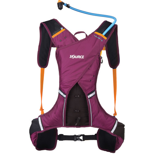 SOURCE DUNE Trail Run 1.5L Hydration Backpack (Purple)