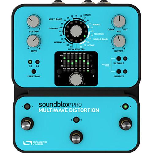 SOURCE AUDIO Soundblox Pro Multiwave Distortion Pedal
