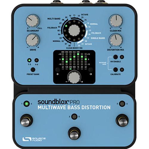 SOURCE AUDIO Soundblox Pro Multiwave Bass Distortion Pedal