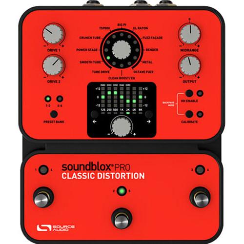SOURCE AUDIO Soundblox Pro Classic Distortion Pedal