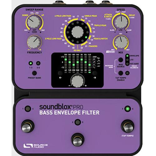 SOURCE AUDIO Soundblox Pro Bass Envelope Filter Pedal